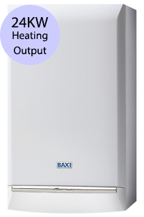 Baxi Platinum 24 Combi 24KW Gas Combi Boiler