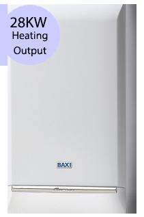Baxi Platinum 28 Combi 28KW Gas Combi Boiler