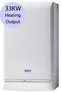 Baxi Platinum 33 Combi 33KW Gas Combi Boiler