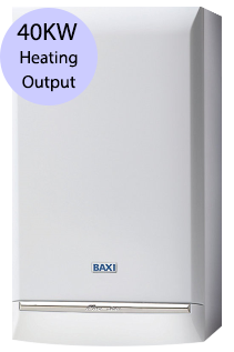 Baxi Platinum 40 Combi 40KW Gas Combi Boiler