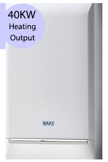 Baxi Platinum Plus 40 40KW Gas Combi Boiler